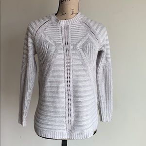 The Limited zipper back sweater